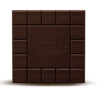 "Tablette de chocolat noir ""Nature"" Le Comptoir de Mathilde"