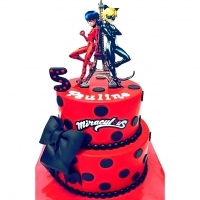 Cake design lady bug et chat 30 PARTS