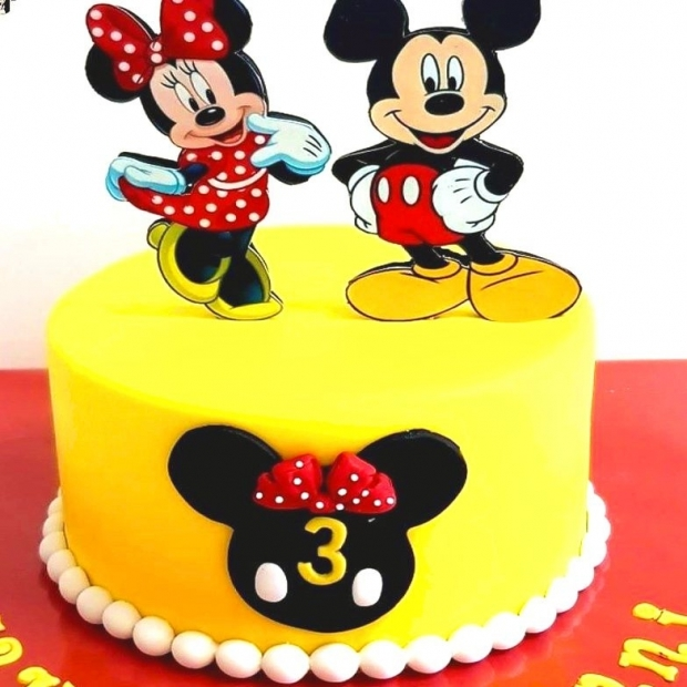 Cake design Minnie et Mickey sun 15 PARTS